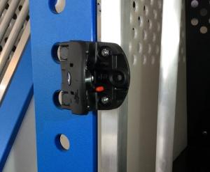 GFK-Kunststoffschloss mit Sicherheitsriegel (abschließbar)